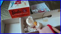 PLATINUM BARBIE SWIRL NEAR MINT IN ORIGINAL BOX With ACCESSORIES RARE