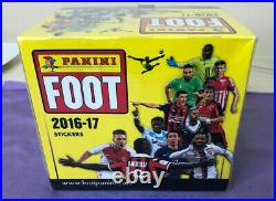 Panini 2016-17 Foot 100 Packets 500 Stickers Box Kylian Mbappe RC Rookie RARE
