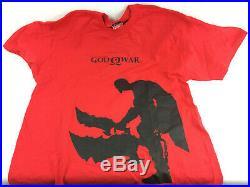 Playstation 2 (PS2) God of War Press Kit, Near Complete In Original Box RARE
