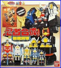 Power Rangers Ninja Sentai Kakuranger DX Chogokin Muteki Shogun RARE! USED F/S