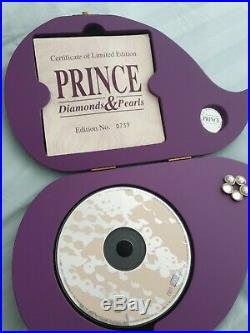 Prince Diamond and Pearls Jewel Box Symbol ultra rare official presentation