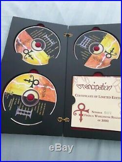 Prince Emancipation Limited Edition Presentation Box Symbol ultra rare