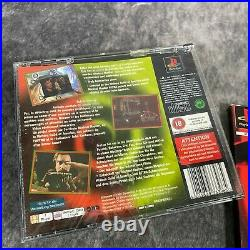 Psychic Detective PS1 PlayStation 1 PAL Game Complete Original Rare Big Box