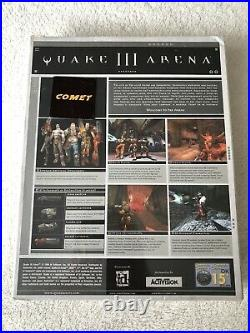 QUAKE III 3 ARENA Pc Cd Rom Original BIG BOX Version Brand New & Sealed Rare