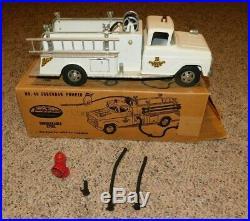 RARE 1950's Tonka Toys Suburban Pumper # 46 with Original Box & Accessories