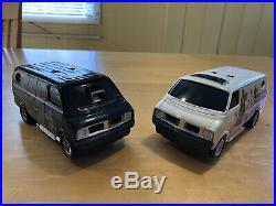 RARE-1977 StarWars Vintage SSP Van Set w original box UNPUNCHED-VANS STILL WORK
