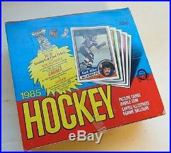 RARE 1984 OPC O PEE CHEE HOCKEY card MINT wax box 48 packs