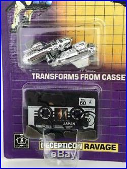 RARE 1984 TRANSFORMERS GEN 1 Pre-Rub Ravage Rumble Pack Unopened in Original Box