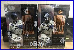 RARE 1994 Upper Deck Baseball Series 1 Factory Sealed Box (Griffey Mantle Auto)