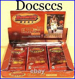 RARE 1996 97 Bowman's Best NBA Basketball Trading Cards Sealed Pack of Box Kobe