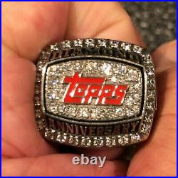 RARE 2011 TOPPS Diamond Anniversary Ring Only 60 Made Mint In Original Box