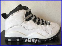 RARE Air Jordan 10 Steel Grey 1994 OG X Size 8 Original Box NEW VINTAGE TOE  CAP fea4a277ffe