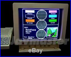 RARE Apple IIc Color Monitor Model A2M4043 withoriginal box, tested, working