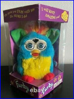 RARE Kids Cuisine Furby. Original sealed box. NEVER BEEN OPENED