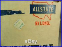 RARE LIONEL \ SEARS POSTWAR No. 9820 MILITARY TRAIN SET ORIGINAL SET BOX ONLY