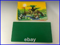RARE! Lego Castle 6071 FORESTMEN'S CROSSING COMPLETE original instructions