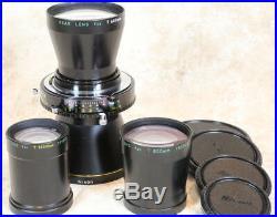 RARE MINT! Nikon Nikkor-TED 600/800/1200mm in Original Boxes
