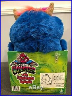 RARE! My Pet Monster, 2001 Brand New With Tags, Original Box, Shackles/Handcuffs