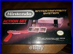 RARE NEW IN BOX NEVER OPENED Original Nintendo Entertainment System Action Set