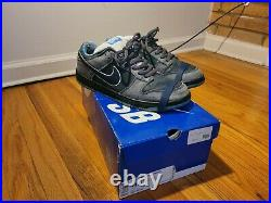 RARE Nike SB Dunk Low Premium Blue Lobster with original box and rubber bands