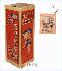 RARE Original Box & Tag for Betty Boop Doll by Cameo WORLDWIDE SHIPPING