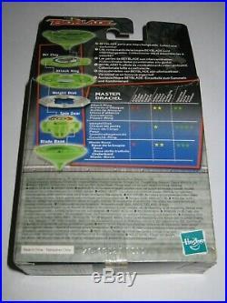 RARE Original Hasbro Beyblade 1st Gen Master Draciel A-33 Sealed In Box