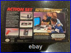 RARE Original Nintendo NES Action Set Orange Console, Brand New In The Box