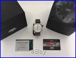 RARE Oris Flight Timer Day/Date 25J Automatic Pilots Watch (7568) Original Box