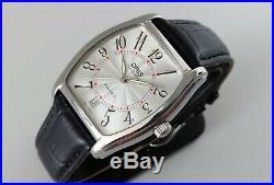 RARE! Oris Tonneau Date automatic gents watch (7471-40-01) Original box & buckle