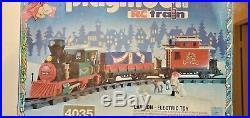 RARE PLAYMOBIL RC Christmas Train 4035 With Original Box - READ DESCRIPTION