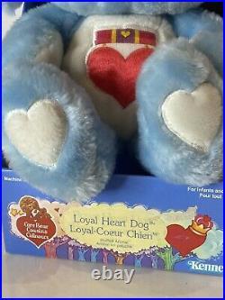 RARE Prototype Loyal Heart Dog Care Bear Cousins Vint Original In Box NEW