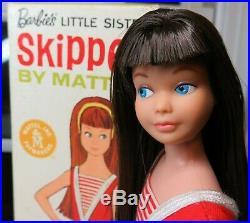 RARE RAVEN Hair Skipper with BOX, accessories 1965