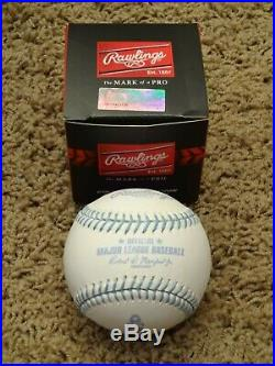 RARE Rawlings Official MLB Father's Day Blue Ribbon BaseballBRAND NEW IN BOX