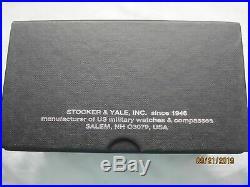 RARE- Stocker & Yale Military Type 6 Sandy 660 with Original Box