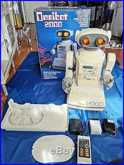 // RARE Tomy Omnibot 2000 in Original Box! Incl. Tray //