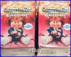 RARE UNOPENED ORIGINAL GARBAGE PAIL KIDS CHROME FIRST Series Blaster box! (1)1st