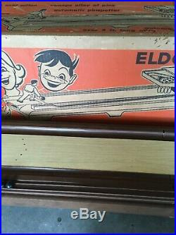 RARE Vintage Eldon Bowl A Matic Bowling Game 1962 With Original Box