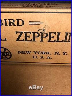 RARE Vintage Marx Sky Bird Mechanical Zeppelin with Original Box Works