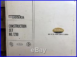 RARE Vintage Mini TONKA Construction Set No. 1210 Truck Toys With Original Box