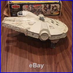 RARE Vintage Star Wars 1979 Millennium Falcon With ORIGINAL Box Kenner