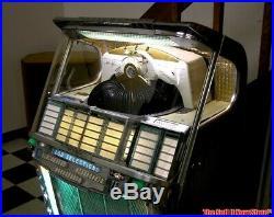 RARE survivor 1957 Wurlitzer 2100 Jukebox Juke Box Coin Op Record Music Machine