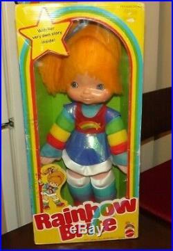 Rainbow Brite Doll 1983 Original Mattel RARE Sealed box