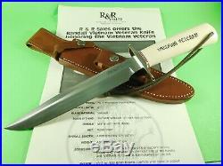 Randall Knives Vietnam Veteran #1 of 100 SS Box Sheath Case Brochure RARE