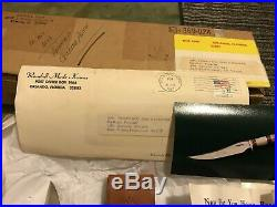 Randall made Custom Knife 50th ANN. #036 Smark/Sheath/Box/Letter -RARE