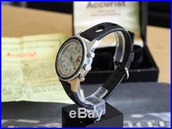 Rare 1960s ACCURIST Super Waterproof 400 Divers Watch, Original Box + Guarantee
