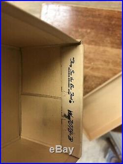 Rare 1964 Collectible Original Beatles Wing Dings Sneakers Shoes & Original Box