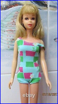 Rare 1965 Gorgeous S/l Francie Dolloriginal Box#1140full Blonde Haiross#1130