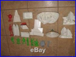 Rare 1966 Ideal Sears Batman JLA Minty PlaySet & Original Box