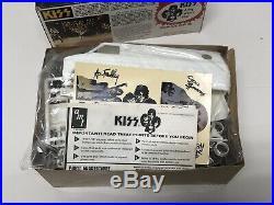 Rare 1977 KISS Band Custom Chevy Van AMT Model KitUnbuiltSEALED BAGSOpen Box