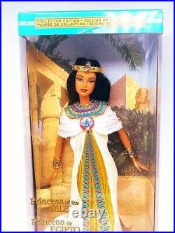 Rare 2001 Princess Of The Nile Barbie doll collector's edition new